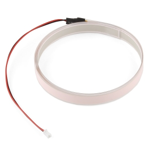 Elektroluminestsents riba, valge, 1m