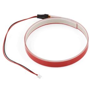 Elektroluminestsents riba, punane, 1m