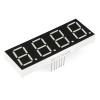 7-segment LED displei, 4 kohta, 20mm, valge
