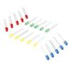 LED 5mm, valik-komplekt, 4 värvi, 20tk
