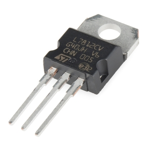 L7812 - pingeregulaator 12V 1.5A, TO-220