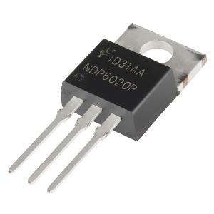 NDP6020P - MOSFET P-kanaliga, 20V 24A, TO-220