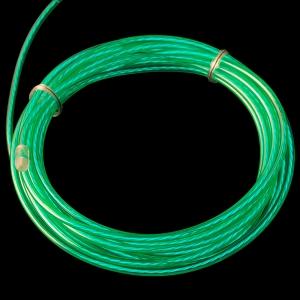 Elektroluminestsents kaabel, roheline, liikuv valgus, 3m