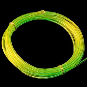 Elektroluminestsents kaabel, fluorestseeriv roheline, liikuv valgus, 3m