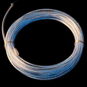 Elektroluminestsents kaabel, sinakas-roheline, liikuv valgus, 3m