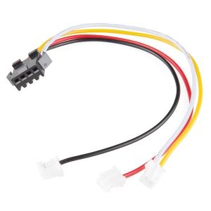 Elektroluminestsentsi adapterkaabel, liikuvale valgusele