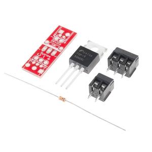 MOSFET transistoriga elektrooniline lüliti, 60V 3,5A