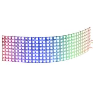 NeoPixel 8x32 RGB LED maatriks, painduval plaadil