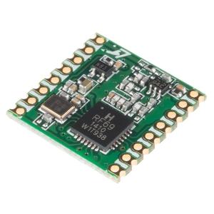 RFM69HCW raadioside moodul, 915MHz, 3.3V