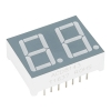 7-segment RGB LED displei, 2 kohta, 14.2mm