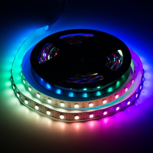LED riba, RGB Digital, I2S, 60 LED/m, 5V, 5m