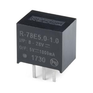 R-78E5.0-1.0 - pingeregulaator 5V 1A