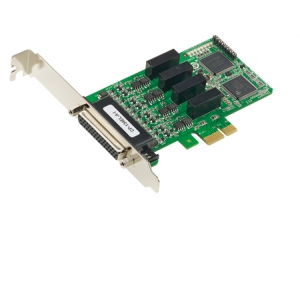 RS-422/485 PCIe kaart, Low Profile, 4 porti (4 kV surge and 2 kV electrical isolation)
