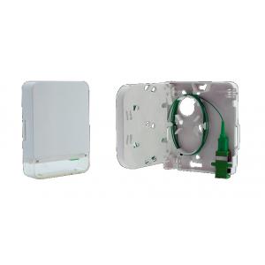 FO seinakarp 1-2 kiudu 1xSC simplex/LC duplex plastik tühi