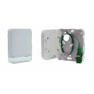 FO seinakarp 1-2 kiudu plastik, SC simplex/LC duplex