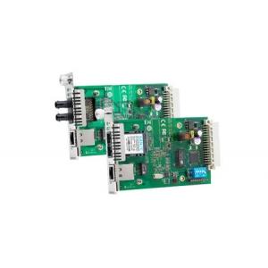 Tööstuslik konverter: 10/100BaseT(X) to 100BaseFX, multi-mode, ST; moodul Nrack süsteemile