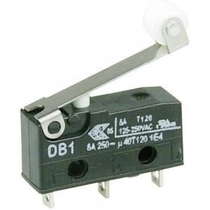 Mikrolüliti rulliga 6A 250VAC SPDT