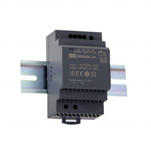 Toiteplokk DIN-liistule 60W 24V 2.5A slim, tööstuslik