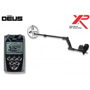 Metallidetektor XP Deus ver. 4.0,  22.5 cm HF pooliga, (ainult juhtpult)