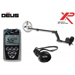 Metallidetektor XP Deus ver. 4.0,  22.5 cm HF pooliga, WS4 wireless klapid, juhtpult