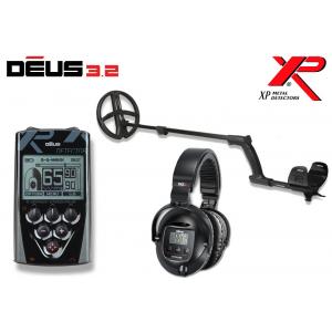 Metallidetektor XP Deus ver. 4.0,  22.5 cm pooliga, juhtpult, juhtmeta kõrvaklapid WS5