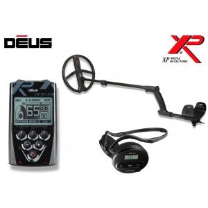 Metallidetektor XP Deus ver. 4.0,  28 cm pooliga, juhtpult, juhtmeta kõrvaklapid WS4
