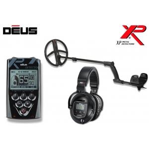 Metallidetektor XP Deus ver. 4.0,  28 cm pooliga, juhtpult, juhtmeta kõrvaklapid WS5