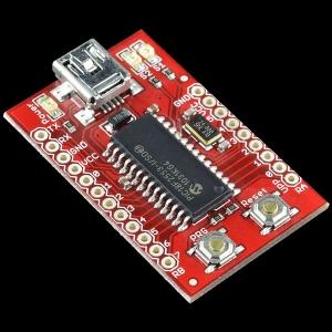 USB Bit Whacker - 18F2553 arendusplatvorm