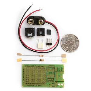 PICAXE 8-pin makettplaadi komplekt