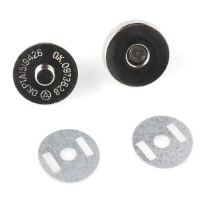 Voolu juhtiv magnetiga 18mm trukk, saab kasutada lülitina