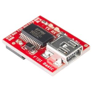 FTDI Basic - 3.3V serial konverter