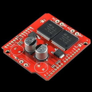 SparkFun Monster Moto Shield, mootoridraiver 16V 30A