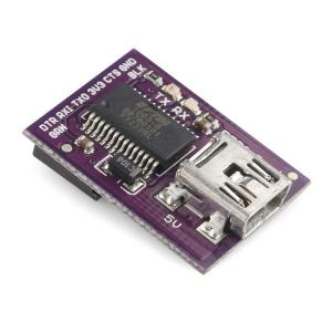LilyPad FTDI - USB adapter, 5V