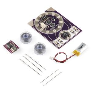 ProtoSnap - LilyPad kostüümielektroonika väike komplekt