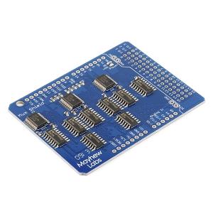 Mux Shield II - 48-kanaliga multiplekser Arduino´le