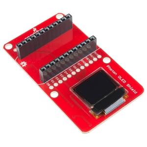SparkFun Photon Micro OLED displei