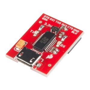Beefy 3 FTDI Basic - 3.3V 600mA serial konverter