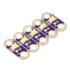 LilyPad LED, valge, 5 tk