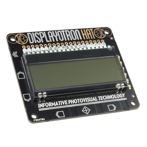 Pimoroni Display-O-Tron HAT - LCD displei Raspberry´le