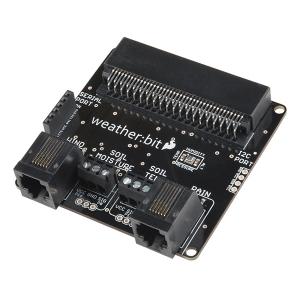 SparkFun weather:bit - micro:bit ilmajaama andurite adapter