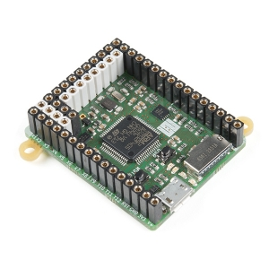 MicroPython pyboard v1.1, konnektoritega