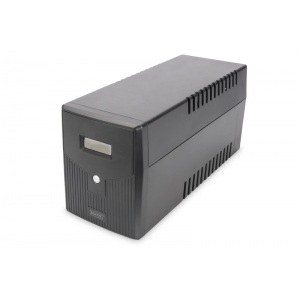 UPS 600W/1000VA, line-interactive, LCD display