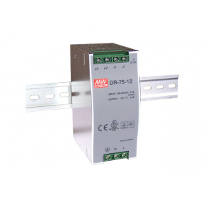 Toiteplokk DIN-liistule 75W 48V 1.6A