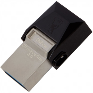Mälupulk KINGSTON 32GB  DT microDuo USB3.0/microUSB