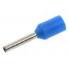 Juhtmehülss 2,5mm², isoleeritud, sinine, L=8,2mm