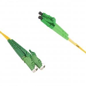 FO jätkukaabel singlemode E2000/APC-LC/APC duplex 1.0m