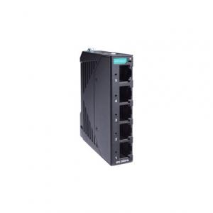 Switch: 5 x 10/100BaseT(X), -10 kuni 60°C, mittemanageeritav, metallist DIN