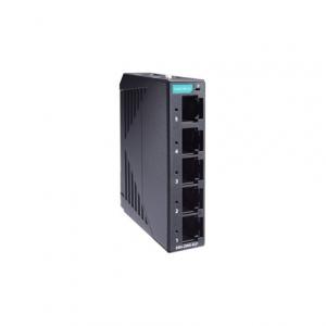 Switch: 5 x 10/100BaseT(X), -10 kuni 60°C, mittemanageeritav, plastikust DIN