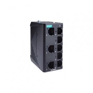 Switch: 7 x 10/100BaseT(X), 1x 10/100BaseF(X) MM SC -10 kuni 60°C, mittemanageeritav, metallist DIN
