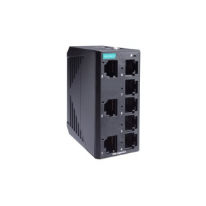 Switch: 8 x 10/100BaseT(X), -10 kuni 60°C, mittemanageeritav, plastikust DIN